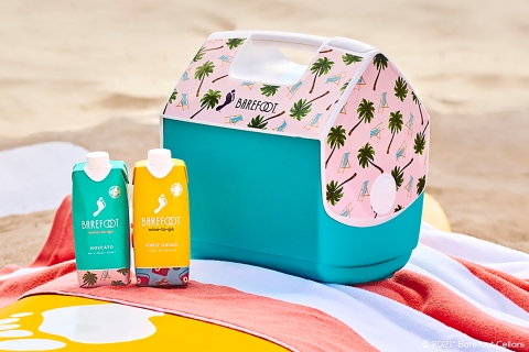 Igloo and Barefoot Wine release two all-new Playmate coolers inspired by the fan-favorite Wine-To-Go blends. (Photo: Business Wire)
