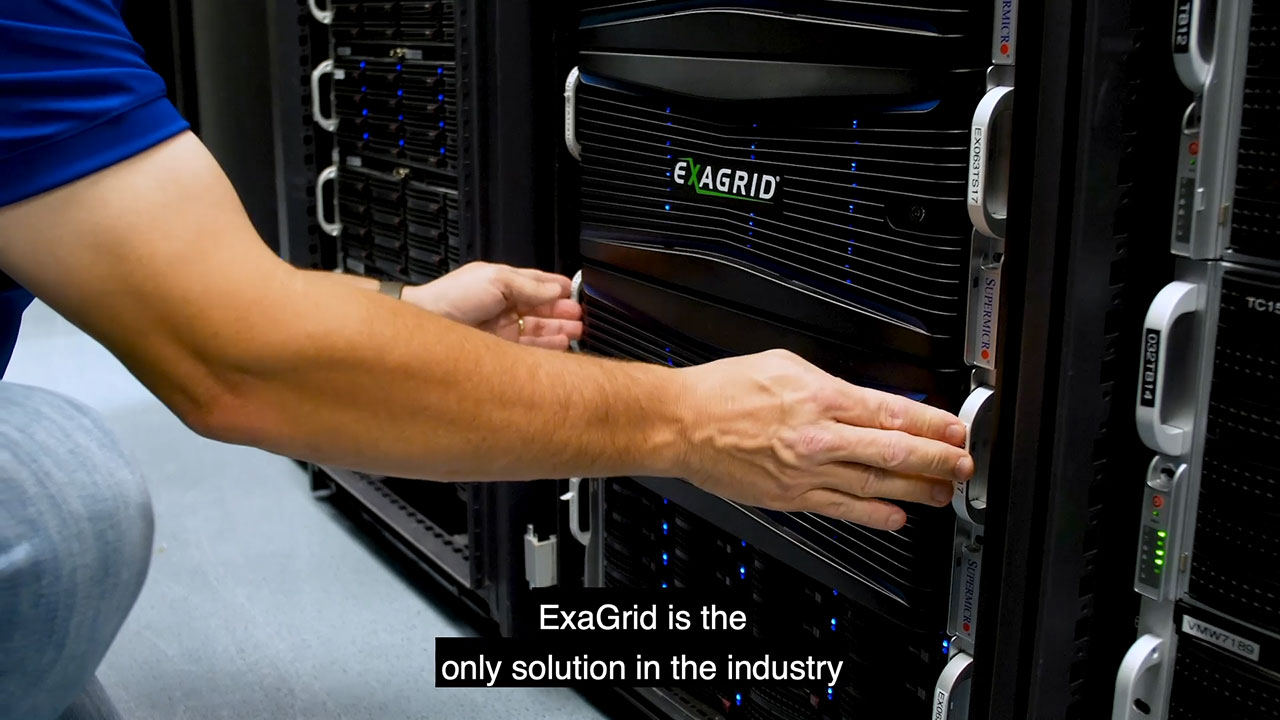 Learn more about ExaGrid Tiered Backup Storage in this short video.