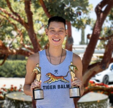 Professional Basketball Player Jeremy Lin, Tiger Balm Brand Ambassador (Photo: Business Wire)