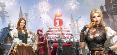 King of Avalon Celebrates Five-Year Anniversary With Major Game Updates and Events in July (Graphic: Business Wire)