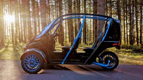 Arcimoto, Tennessee Clean Fuels, and Drive Electric Tennessee launch statewide pilot program to test Arcimoto FUV and Deliverator in key cities across the state. (Photo by Arcimoto)