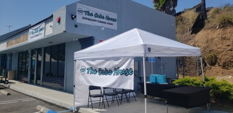 The Cake House cannabis retail store is coming soon to Vista, California! (Photo: Business Wire)