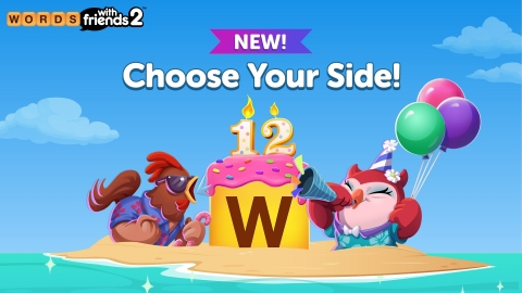 Zynga Announces 'National Words With Friends Day' with Inaugural In-Game Festival Celebrating Iconic Game Franchise's 12th Birthday (Graphic: Business Wire)