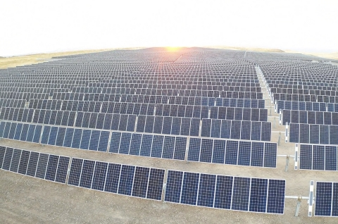 Ameresco's work with San Joaquin County solar farm earns Top Project of the Year award from Environment + Energy Leader. (Photo: Business Wire)