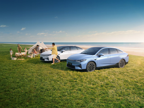 XPeng P5 smart sedan (Photo: Business Wire)