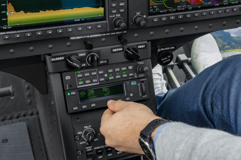 The GFC 600H flight control system brings advanced safety features to the Bell 505 helicopter. (Photo: Business Wire)