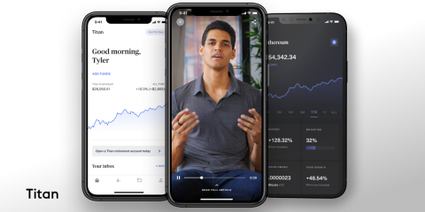 Titan Raises $58M Series B Led by a16z to Build the Modern Asset-Management Giant (Photo: Business Wire)