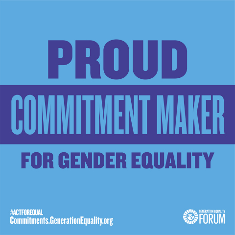 """This month, Mary Kay also joined the """"Drivers of change"""" Program at the Generation Equality Forum in Paris, France (June 30 - July 2). (Graphic: Mary Kay Inc.)"""