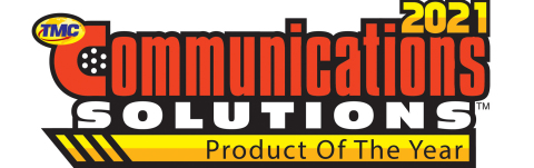 One of TMC's most coveted awards, the Communications Solutions Products of the Year Award honors exceptional products and services that facilitate voice, data and video communications. (Graphic: Business Wire)