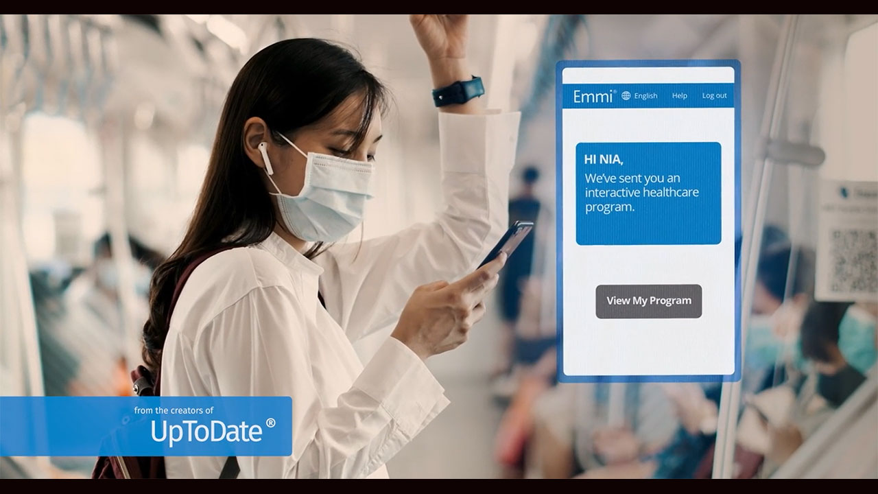 Effective patient education has become even more important in the wake of chronic misinformation, virtual visits, and delayed medical care brought on by the pandemic. That's why Wolters Kluwer is introducing EmmiEducate, a new patient education solution from the creators of UpToDate and Lexicomp.