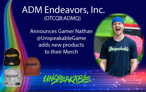 New Merch from Nathan @UnspeakableGame (Photo: Business Wire)