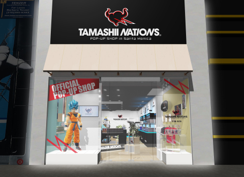 TAMASHII NATIONS POP UP SHOP in Santa Monica_1 (Photo: Business Wire)