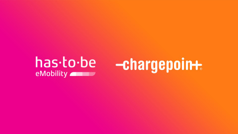 ChargePoint kündigt Übernahme des europäischen E-Mobilitätssoftwareanbieters has·to·be. (Graphic: Business Wire)