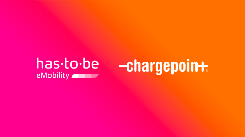 ChargePoint Announces Agreement to Acquire Leading European E-mobility Technology Provider has·to·be. (Graphic: Business Wire)