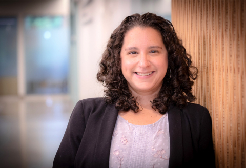 Allison Marziliano, PhD, assistant professor in the Institute of Health System Science at the Feinstein Institutes for Medical Research (Credit: The Feinstein Institutes for Medical Research)