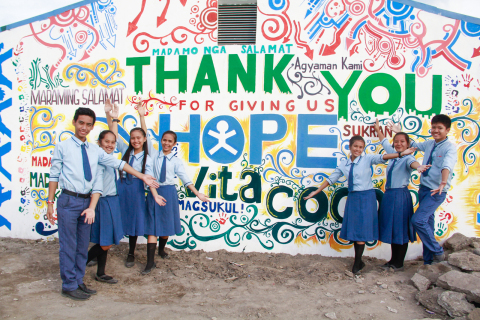 The Vita Coco Project aims to build a thriving community that supports local infrastructures like schools and classrooms. (Photo credit: Sam Potter)