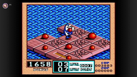 On July 28, Bombuzal arrives to the Super Nintendo Entertainment System – Nintendo Switch Online library. Strategically detonate every bomb in each level while leaving yourself a safe place to stand when the dust settles. In this puzzle game, you'll have to be quick, because time is short. (Graphic: Business Wire)