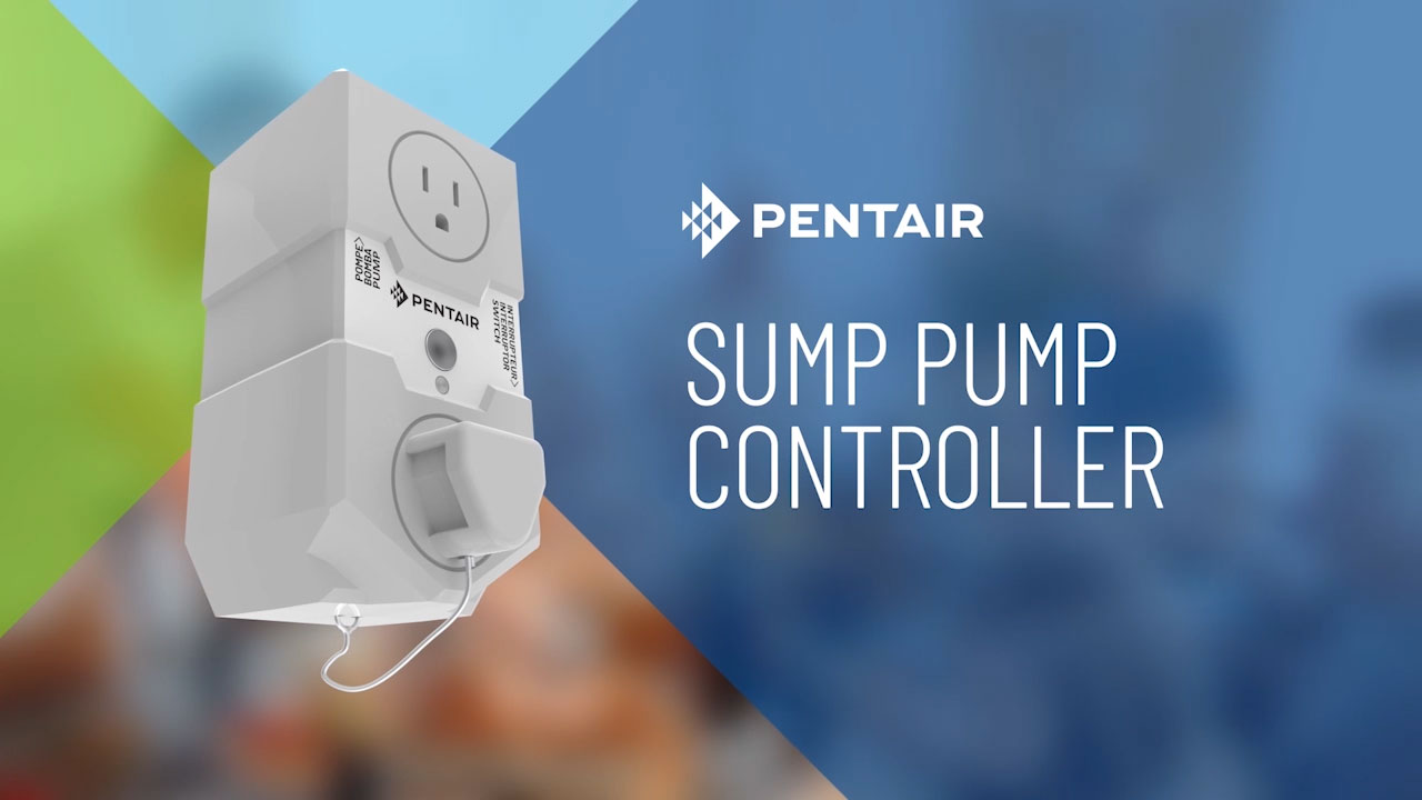 Whether you're home or away, stay connected and in the know with the Pentair Sump Controller.