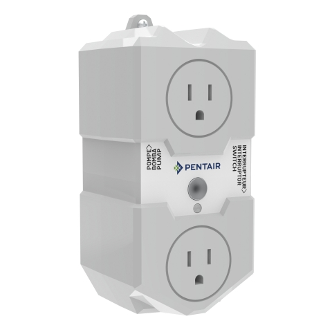 The Pentair Sump Controller is a user-friendly, connected pump controller that empowers you to protect your property by being aware and informed. (Photo: Business Wire)