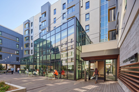 Manzanita Square at San Francisco State, On-Campus Best Public-Private Financing Solution (Photo: Business Wire)