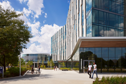 University of Illinois Chicago Academic and Residential Complex (ARC), On-Campus Best Implementation of Mixed-Use/Live-Learn, On-Campus Best New Development, On-Campus Best Architecture (Photo: Business Wire)