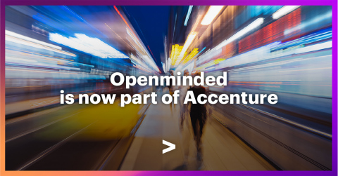 Openminded is now part of Accenture (Graphic: Business Wire)