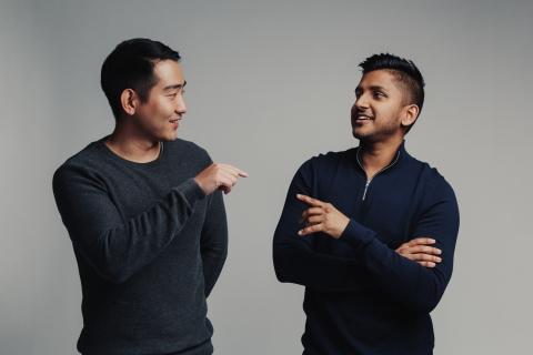 Richard Hong and Darwish Gani, Co-Founders, Pangaea Holdings, Inc. (Photo: Business Wire)
