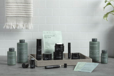 Lumin, a premium men's skincare brand with natural Korean-based formulations. (Photo: Business Wire)