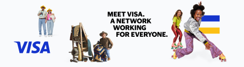 Inviting the world to 'Meet Visa,' the global payments technology company today unveiled the initial phase of its brand evolution spotlighting the diverse capabilities of its network and commitment to enabling global economic inclusion. (Graphic: Business Wire)