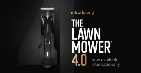 The moment you've all been waiting for. Men around the world can now get their hands on MANSCAPED's fourth-generation groin and body trimmer. (Graphic: Business Wire)