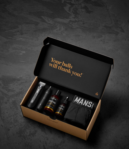 MANSCAPED's curated luxury grooming kits just got upgraded. The Perfect Package 4.0 and The Performance Package 4.0 (pictured) are now available with The Lawn Mower 4.0. (Graphic: Business Wire)