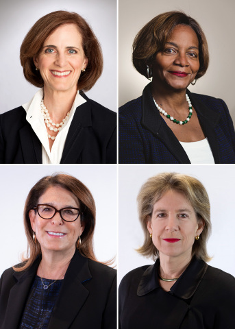 Howmet Aerospace Women Board Members (clockwise from top left): Amy E. Alving, Sharon R. Barner, Nicole W. Piasecki, and Jody G. Miller. (Photo: Business Wire)