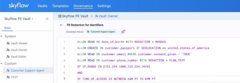 Skyflow Data Governance Engine (Photo: Business Wire)
