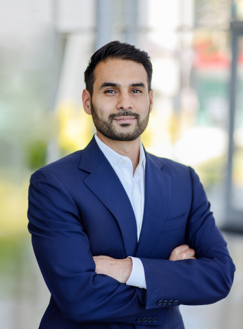 Saad Shahzad Chief Revenue Officer at Airspace (Photo: Business Wire)
