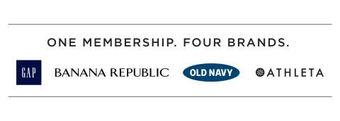 Gap Inc. One Membership. Four Brands