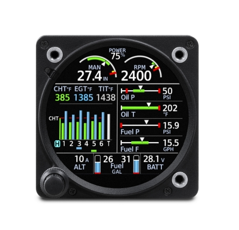 The new features and enhancements of the GI 275 engine indication system provide owners a detailed and intuitive solution to help monitor engine data and manage their engine investment. (Photo: Business Wire)