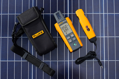 The simple user interface, instantaneous solar irradiation measurements, and built-in temperature sensor make it easy to meet IEC 62446-1 requirements for testing, documenting, and maintaining photovoltaic systems. Additionally, the integrated compass and inclination sensor allow technicians to quickly measure and document roof and site orientation, pitch, and panel tilt while surveying, installing, or adjusting an installation. (Photo: Business Wire)