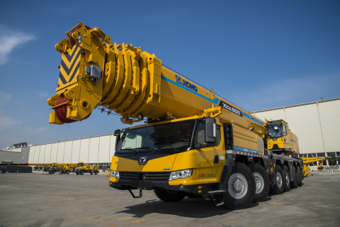 Xuzhou Construction Machinery Group to equip its all-terrain crane application with Allison Transmission's new TerraTran. (Photo: Business Wire)