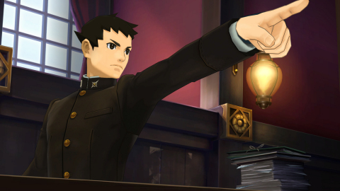 The Great Ace Attorney Chronicles will be available on July 27. (Graphic: Business Wire)