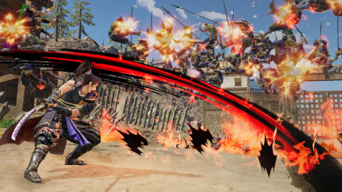 SAMURAI WARRIORS 5 will be available on July 27. (Graphic: Business Wire)
