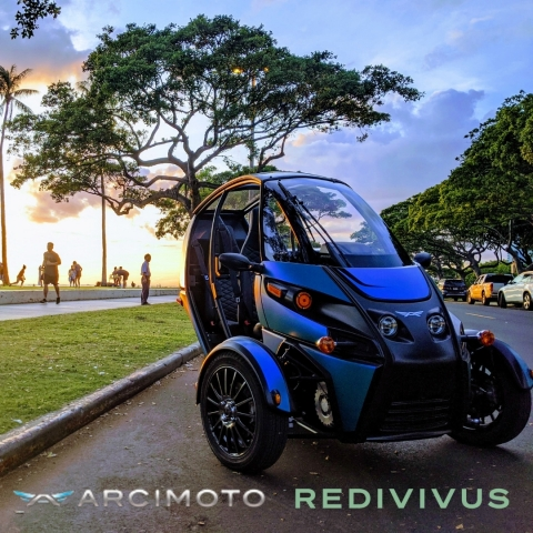 Arcimoto and Redivivus launch battery recycling partnership (Photo by Arcimoto)