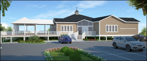 Rendering showing Outback Crab Shack. (Photo: Business Wire)