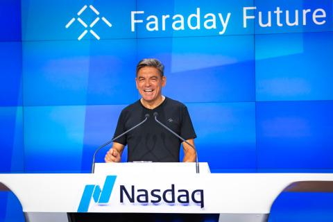 Faraday Future Global CEO Carsten Breitfeld (Photo: Business Wire)