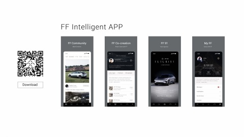 Faraday Future Launches All-New User-Focused FF Intelligent App (Photo: Business Wire)