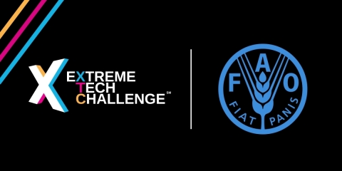 Extreme Tech Challenge partners with The Food and Agriculture Organization of the United Nations (Graphic: Business Wire)