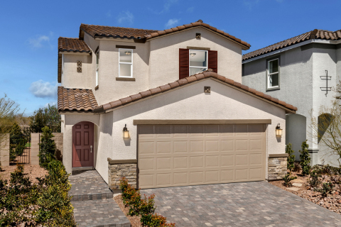 KB Home announces the grand opening of Teagan, its latest new-home community in Las Vegas. (Photo: Business Wire)