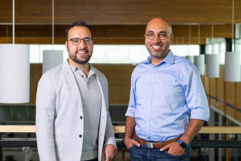 Abdullah Saab (CFO) & Tarique Al-Ansari (CEO) (Photo: Business Wire)