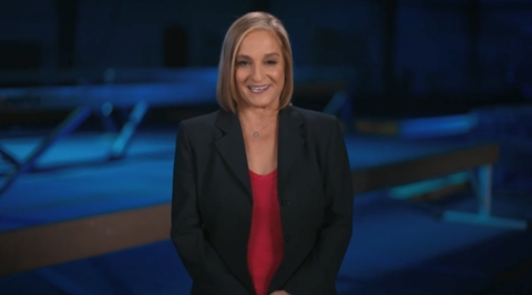 """Carrying the baton for Daikin's extensive media campaign is one of the most celebrated athletes ever – gymnast Mary Lou Retton, winner of five medals during the 1984 summer games. Retton will relay Daikin's new brand message, """"Perfecting the Air We Share,"""" during integrated broadcast and digital content created by Comcast-NBC for the 2021 summer contest. Concurrently, a new Daikin television ad campaign for """"Perfecting the Air We Share"""" will air on several North American networks, including NBC, CNN, Fox, ESPN, USA, Discovery, Lifetime, History, TNT, FX, Canada's CTV and others. (Photo: Business Wire)"""