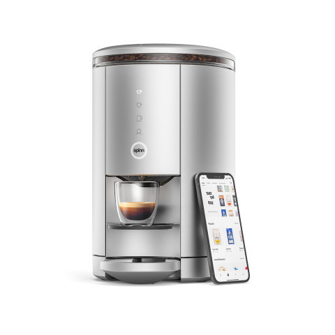 Spinn hardware-enabled coffee marketplace (Photo: Business Wire)