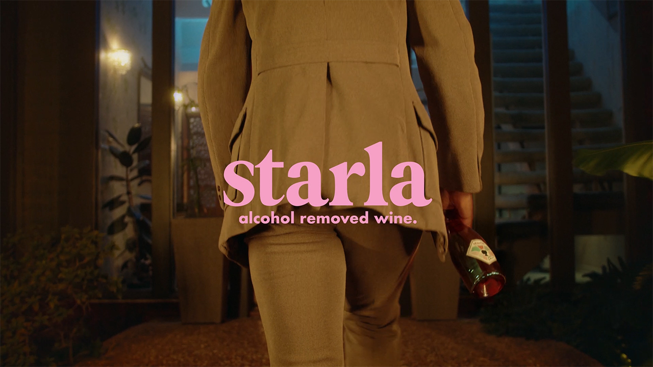 Starla Alcohol Removed Wine Debuts Trio of Premium, Full-Bodied Californian Wines Rich on Experience and Low on Calories. Sip. Savor. Sober. Videographer: Joshua Fortuna Styling: Carlos Alonos Parada Prop Styling: Nolan Kiser